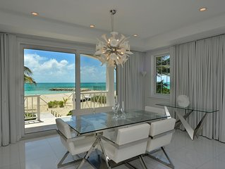 White House - New & Exclusive Luxury Beachfront Villa - Private White Sand Beach