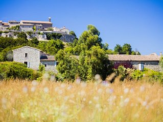 Le Grenier -Self catering luxury gites in restored 500 year old Provencal Mas.