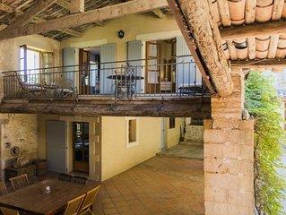 Le Murier - luxury gite in restored mas