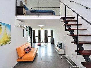 Empire Modern Duplex Loft #13 High Floor