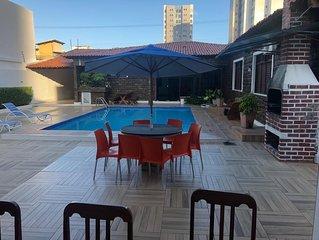 Casa c/ piscina, paria de Atalaia, Aracaju, SE, acomoda 20 pessoas 79-*********