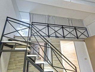 Designer loft in the legendary car factory ZIL
