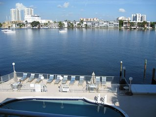 A Wonderful 55 Year and Older Condominium on Crystal Lake & Intracoasta for two!