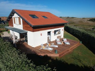 Modern beach house - 150 m from the Atlantic surf - views on the dunes
