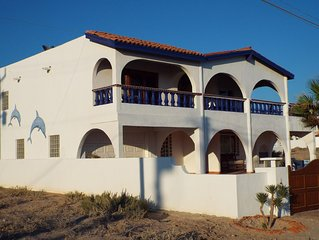 Casa Jeske #2 Beach front property in Las Conchas with amazing  views of the sea