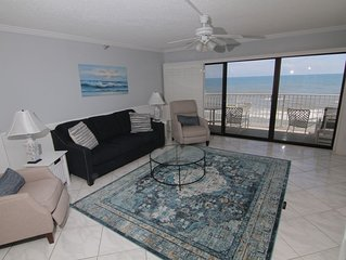 Coastal Living Tranquility, 6th Floor Direct Oceanfront, No-Drive Beach, Fresh N