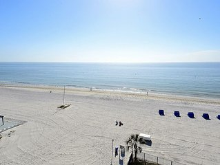 Emerald Isle #601-TOP FLOOR with stunning beach view/Bright South Corner!!
