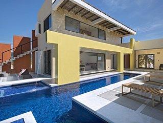 Casa Mar - Einzigartige Strandvilla in Resort