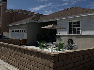 2 BR beach house less then 2 blocks to the Beach & Main St. W/ driveway parking