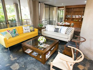 7 BR 4 Stories Townhouse 5min walk to MRT Central Bangkok