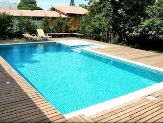 Linda casa com piscina proxima ao mar, em Campeche