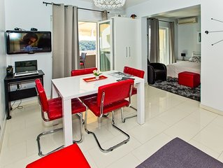 Modern studio apartment for 2 persons