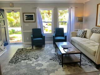 East of A1A Central beach. Newly renovated. 1.5 blocks to beach.