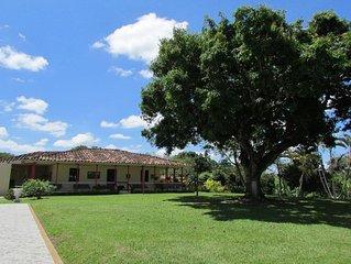 Habitación Doble con baño privado - Finca Palma Soriano