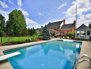 Niagara River Grand Mansion - 50% off nightly rates!