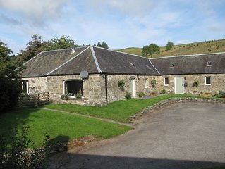 Charming steading conversion in rural Scotland. Self catering, sleeps 6.