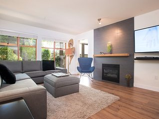 Updated 1BDR Townhome in Whistler Village | Hot Tub & Pool in Complex