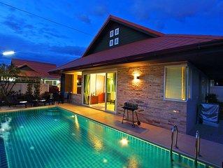 Amazing Jomtien Pool Villa A21
