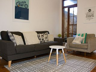 Stylish Terrace in Downtown Cooks Hill