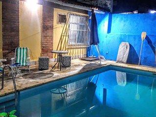 Casa com piscina na Praia de Piratininga
