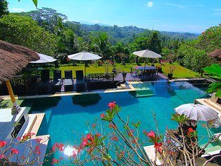 Unique Villa with Stunning Views, Ubud