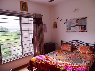 Quiet & Pleasant 2BHK apartment in Pune