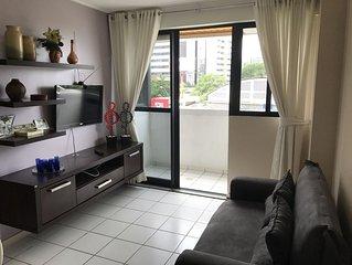 Neo: Apartamento em Edifício a Beira-Mar de Pajuçara!!