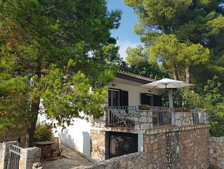 Villa Mala is a charming small holiday house 50 m away from beautiful beach.