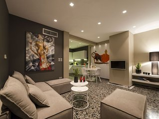 Ma Maison, Lycabettus Acropolis View, Penthouse,15' To City Center,1' From Metro