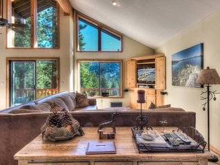 Spacious Tahoe Home Near Lake, Village and Slopes, Private Rec Room!