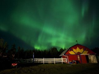 Hidden Valley Bed&Breakfast - see the Northern Lights from the comforts of your
