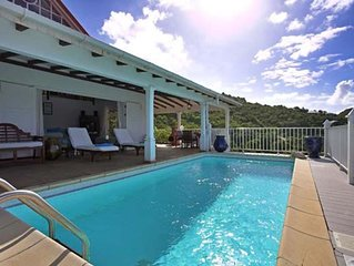 The perfect villa for family vacation on St Bart's