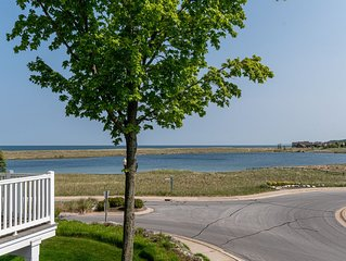 This Condo has Lake Michigan Views, Pool, Hot Tub & Fitness Area to Enjoy!