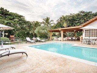Comfortable Golf Villa near Minitas Beach, Great Swimming Pool, Cook Included, A