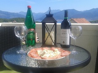 Apartment Bella Vista With Sea View Montenegro