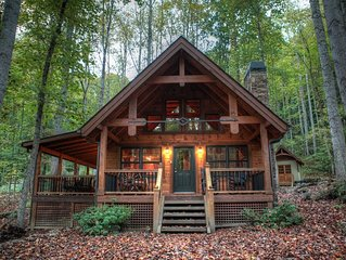 Happy Trails - Watershed Cabins - custom home near Cherokee and Bryson