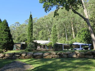 Kingtree Cottage,Cedar Brush Creek near Yarramalong A peaceful hideaway