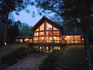 *NEW LISTING* BIRCH BRAE-Amazing House On Big Lake,  Surrounded By Woods And Art