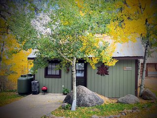 Aspen/Lake/Mountain Views/Lake Access/Sleeps 4/Cabin/Weekly/Monthly Discount