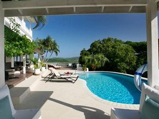 Tamarind Villa- Luxury 7 bedroom villa with pool in St Lucia