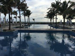 Apartamento luxuoso em um resort com 4 suítes, ambiente familiar, Beach Park !