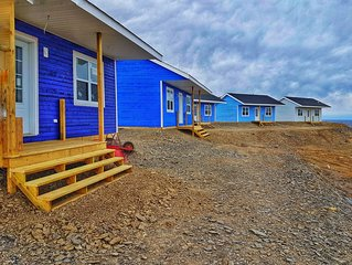 Oceanfront Cottages at the Edge of the World - The Fish Sheds- Uncle Mick's Shed