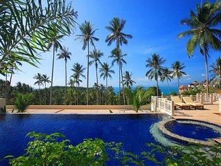 Seaview Villas with Pool on N. coast