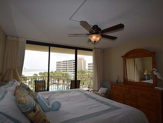 Newly Renovated! Convenient 3rd Floor Location, Gulf Views, Free Wifi, Dunes of