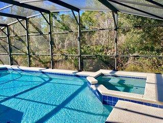 Grand Luxury 5BD Pool Home* Disney & Universal