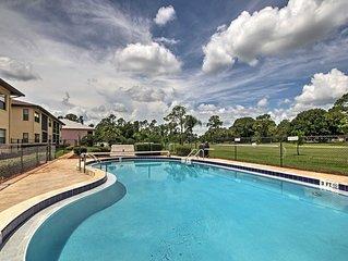 Sebring Golf Course Condo w/ Pool Access & Patio!