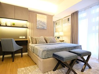 Fully Furnished Condo across Ayala Center with Cable and Internet