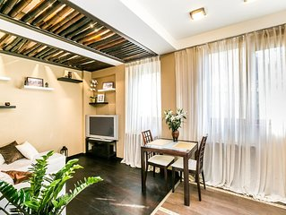 Luxury apartment in Quiet Center with parking