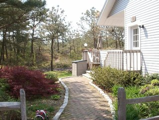 Amagansett walk to the private Ocean beach from this Designer home