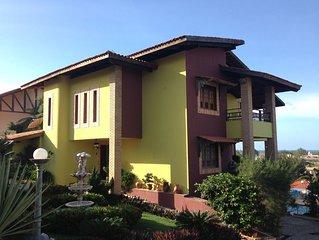 Belissima casa no Porto das Dunas - 5 suites